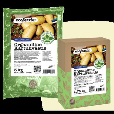 Orgaaniline kartuliväetis