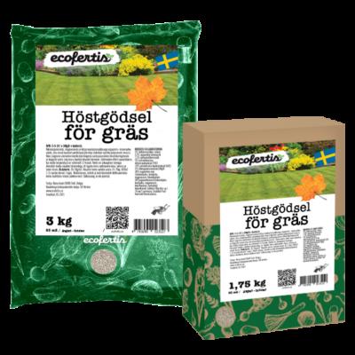Höstgödsel för gräs + bakterie