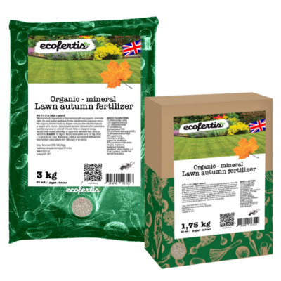 Organic – mineral Lawn autumn fertilizer + bacteria