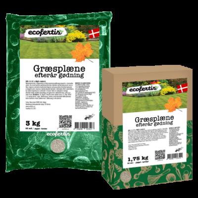 Græsplæne efterår gødning + bakterie