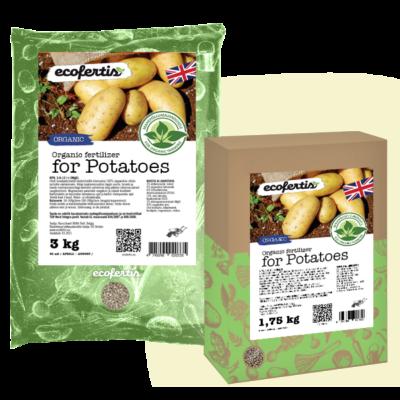 Organic  fertilizer for potatoes