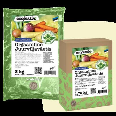 Orgaaniline juurviljaväetis