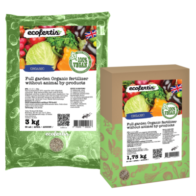 Full garden Organic fertilizer without animal by-products