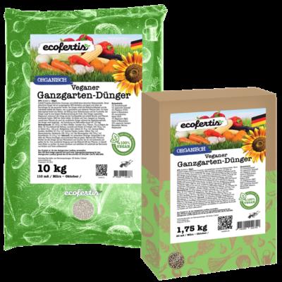 Veganer Ganzgarten-Dünger