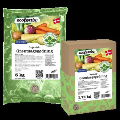 Organisk grøntsagsgødning