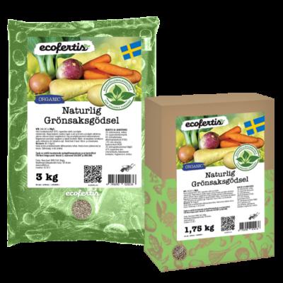 Naturlig Grönsaksgödsel