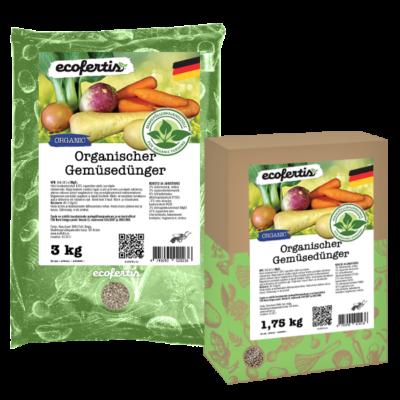 Organischer Gemüsedünger