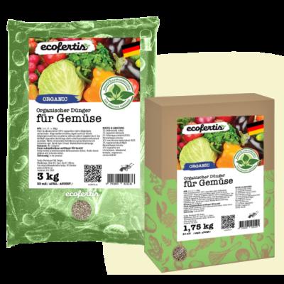 Organischer Dünger für Gemüse