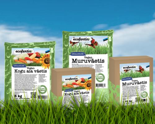 Ecofertis väetiste valik täienes – väetised Veganitele